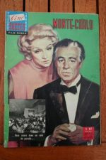 1962 Marlene Dietrich Vittorio De Sica Montecarlo +200p