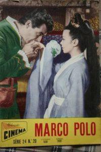 1962 Rory Calhoun Yoko Tani Pierre Cressoy Marco Polo
