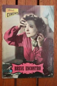 1960 Celia Johnson Trevor Howard Brief Encounter