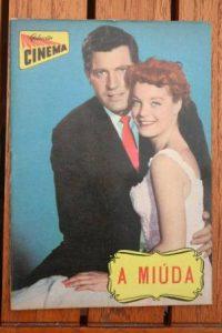 1960 Romy Schneider Paul Hubschmid Scampolo Magazine