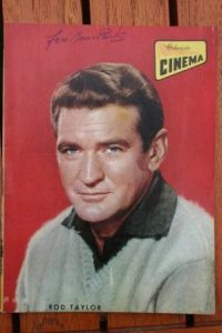 1966 Vintage Magazine Rod Taylor On Cover