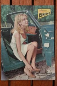 1966 Vintage Magazine Anne Gael On Front Cover