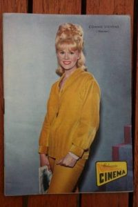 1966 Vintage Magazine Connie Stevens On Front Cover