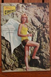 1965 Vintage Magazine Cindy Carol On Front Cover