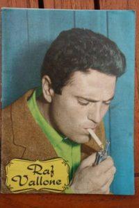 1965 Vintage Magazine Raf Vallone