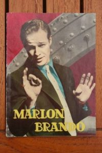1965 Vintage Magazine Marlon Brando