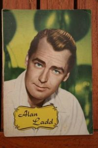 1965 Vintage Magazine Alan Ladd