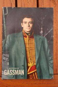 1965 Vintage Magazine Vittorio Gassman