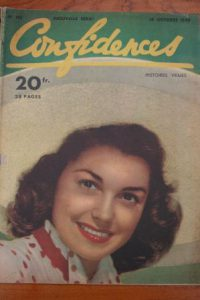 1949 Vintage Magazine Janet Blair