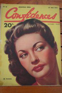 1949 Vintage Magazine Yvonne De Carlo