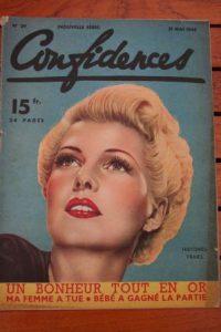 1948 Vintage Magazine Rita Hayworth