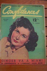 1948 Vintage Magazine Sonia Holm