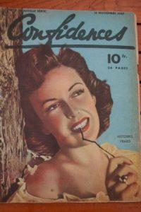 1947 Vintage Magazine Frances Gifford