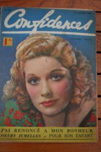 1940 Vintage Magazine Lucille Ball