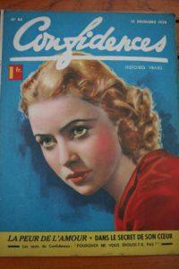 1939 Vintage Magazine Cecilia Parker