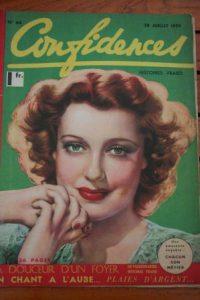 1939 Vintage Magazine Jeanette Mac Donald