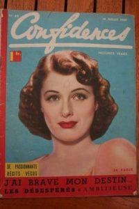 1939 Vintage Magazine Ellen Drew