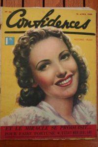 1940 Vintage Magazine Linda Darnell