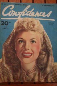 1948 Vintage Magazine Marie Mac Donald