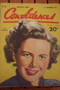 1948 Vintage Magazine Vanessa Brown