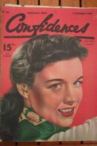 1948 Vintage Magazine Helena Carter