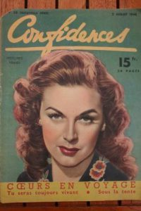 1948 Vintage Magazine Margaret Chapman