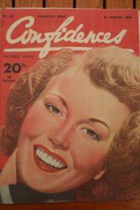 1949 Vintage Magazine Hazel Court
