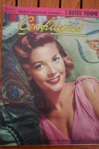 1955 Vintage Magazine Barbara Bates