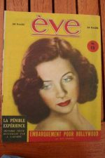 Vintage Magazine 1945 Giselle Pascal