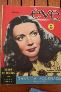 Vintage Magazine 1946 Ludmilla Tcherina