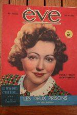 Vintage Magazine 1946 Paulette Dubost