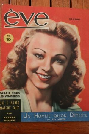 Vintage Magazine 1946 Dany Robin