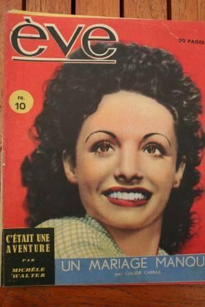 Vintage Magazine 1946 Louise Carletti