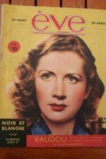 Vintage Magazine 1946 Blanchette Brunoy