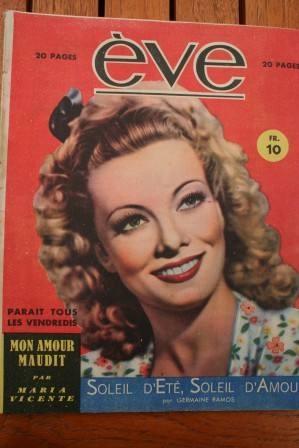 Vintage Magazine 1946 Suzy Carrier