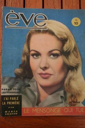 Vintage Magazine 1947 Sally Gray