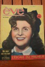 Vintage Magazine 1947 Sophie Desmarets