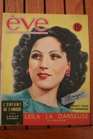 Vintage Magazine 1948 Carmen Moreno
