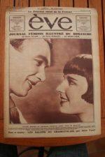 1930 Mag Louise Brooks Georges Charlia Albert Prejean