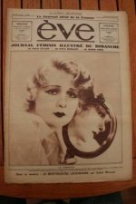 1932 Vintage Magazine Anita Page Dranem - rare !