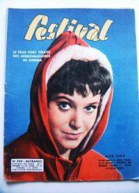 Vintage Magazine 1957 Beatrice Altariba Jean Marais