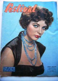 Vintage Magazine 1957 Joan Collins Richard Burton