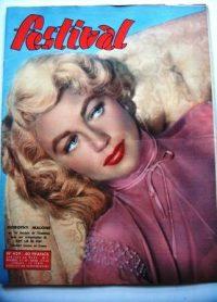 Vintage Magazine 1957 Dorothy Malone