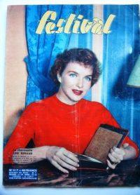 Vintage Magazine 1957 Line Renaud