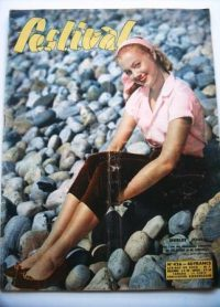 Vintage Magazine 1957 Shirley Jones