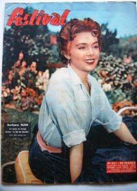 Vintage Magazine 1957 Barbara Rush
