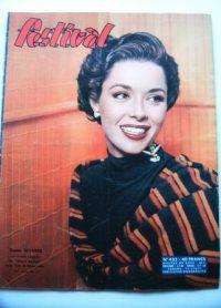 Vintage Mag 57 Dana Wynter Dana Andrews Joan Fontaine