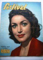 Vintage Magazine 1957 Francoise Fabian Georges Guetary