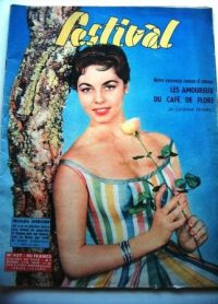 Vintage Magazine 1958 Michele Mercier