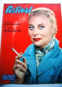Vintage Mag 58 Michele Morgan Van Heflin Glenn Ford